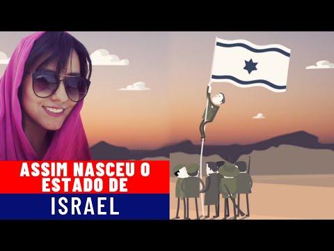 ASSIM NASCEU O ESTADO DE ISRAEL