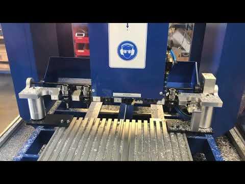 CNC fräsen von Aluminium /  CNC aluminum milling