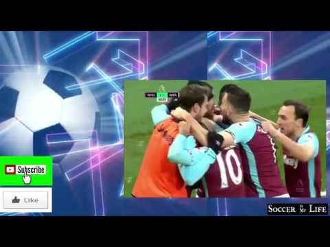 West Ham 2 – 2 West Brom Premier League Highlights   February 11, 2017ipad