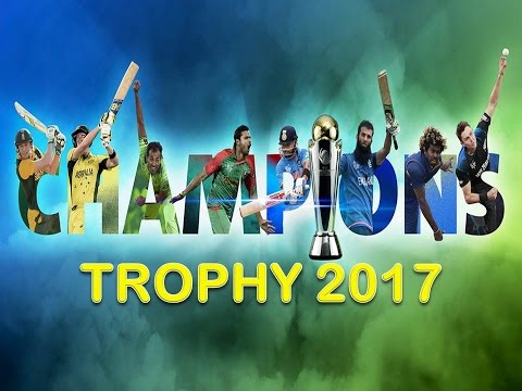 ICC Champions Trophy 2017 Matches Schedule, India Pakistan match in Champion Trophy 2017