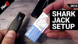 Shark Jack Unboxing and Setup - Hak5 2610