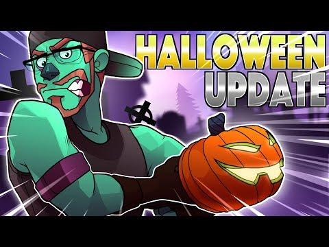 Fortnite Halloween Update - NEW BAZOOKA! (Fortnite Battle Royale)