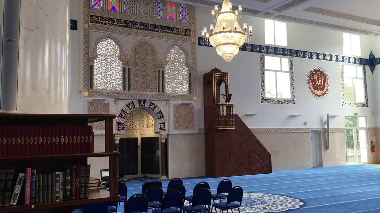 L u2019intérieur de la Grande Mosquéeà Aulnay sous Bois YouTube # Encombrants Aulnay Sous Bois