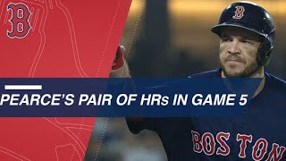 Pearce powers World Series win with 2 homers in WS Game 5