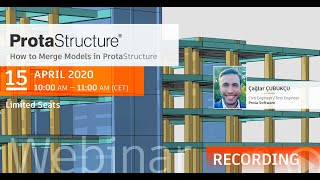 How to Merge Models in ProtaStructure