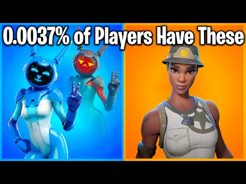 TOP 25 RAREST FORTNITE SKINS OF ALL TIME! (i Bet U Don't Have #1)