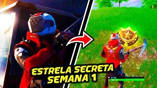 SECRET STAR SEASON X WEEK 1-Fortnite Battle Royale