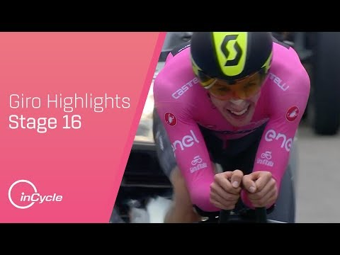 Giro d'Italia 2018 | Stage 16 Highlights | inCycle