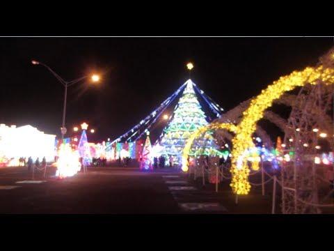 - CHRISTMAS LIGHTS At GLOBAL WINTER WONDERLAND - ATLANTA, GA - YouTube