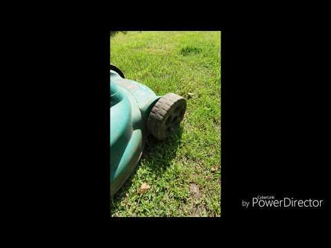 review lawn mower  Bosch Rotak 320