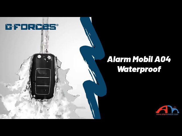 Alarm Mobil A04 Waterproof Test