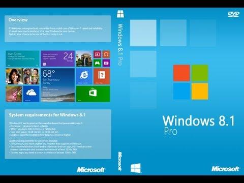 Windows 8.1 Pro 32//64 bit Activation Key multi language