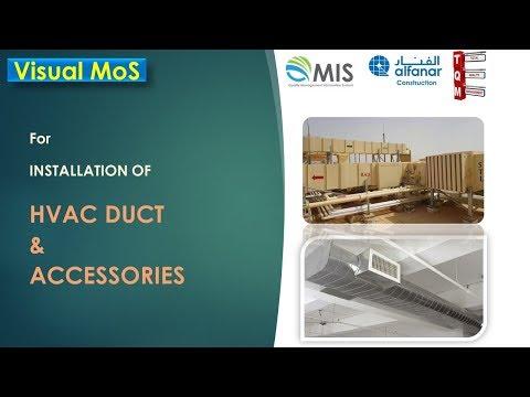 HVAC Ducting & Accessories Installation