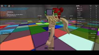 PLAYING ROBLOX COLOR CRAZE WITH MS LUSH I LOST SUBSCRIBERS!!!!!!