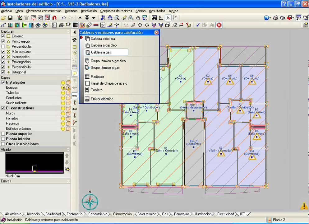 Instalaciones del edificio climatizaci n radiadores for Radiadores 7 islas