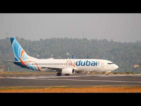 Fly Dubai [FZ5430] Takeoff From Calicut Int'l Airport | HD