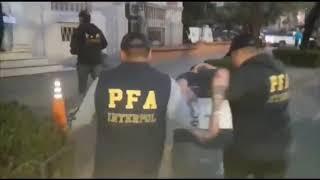 La Policía Federal Argentina detuvo en Córdoba a un sujeto buscado por homicidio en Chile