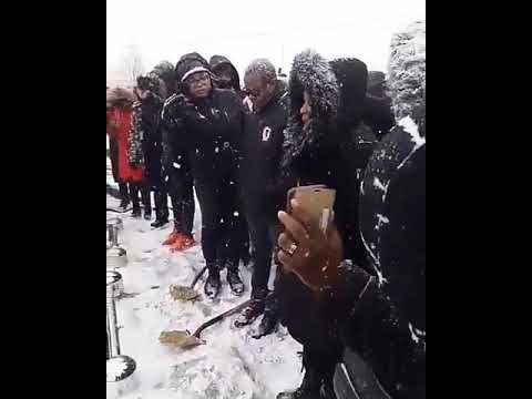 Image result for Nigerian mother who lost her three children in New Year Day accident in Canada,
