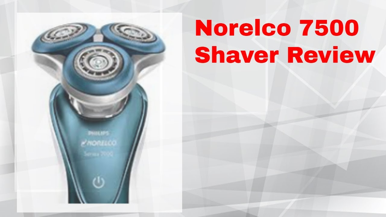Phillips Norelco 7500 Shaver review - YouTube