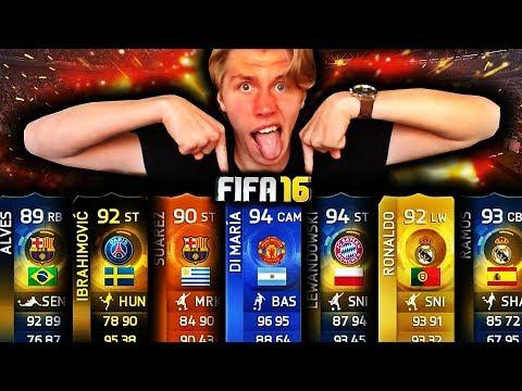 1 MILLION COIN PAKKEÅPNING PÅ FIFA 16!!