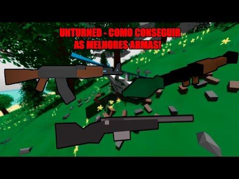 Unturned - Como conseguir as melhores armas + Dicas