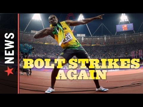 Usain Bolt wins 200m Gold Medal in Jamaican sweep — Track and Field Highlights — 2012 Olympics