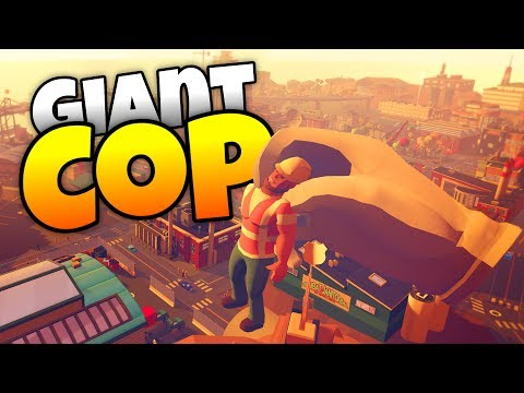 Thumbnail: Giant Cop - Catching the Cabbage Heads! - Giant Cop Gameplay- HTC Vive VR Game