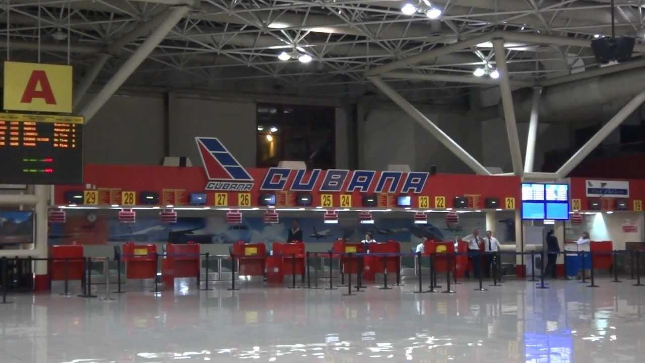 Aeroporto Havana Arrivi : Havana jose marti international airport in cuba youtube