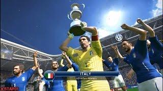 PES 2015 - Italy Champions of UEFA Euro 2016