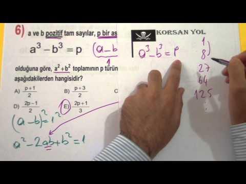 Lys 2013 Matematik 1. Parça - şenol Hoca Şenol Hoca Matematik