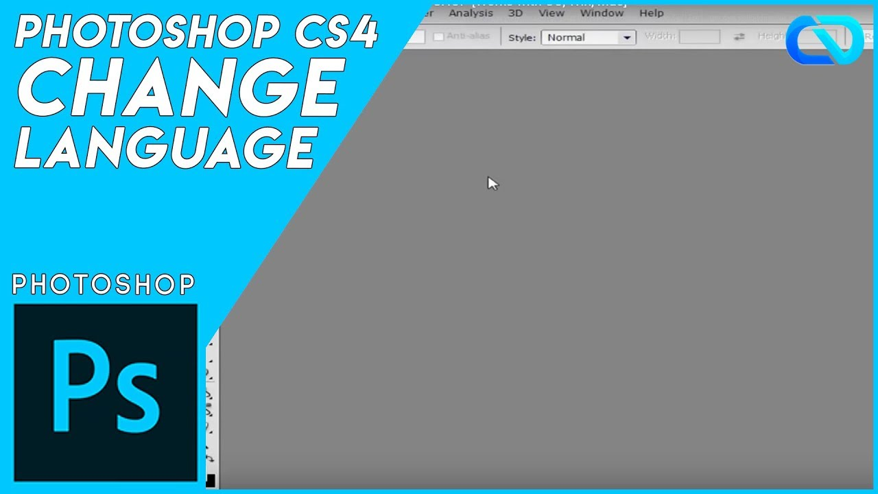 how to change language in photoshop works with cc win mac youtube. Black Bedroom Furniture Sets. Home Design Ideas