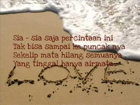 Ezad - Percintaan ini (lirik)