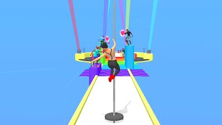 Pole Dance - All Levels Gameplay Android iOS (1-6)