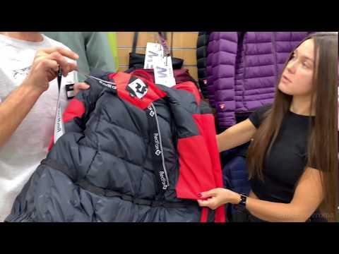 Выбор пуховой куртки в магазине Red Fox
