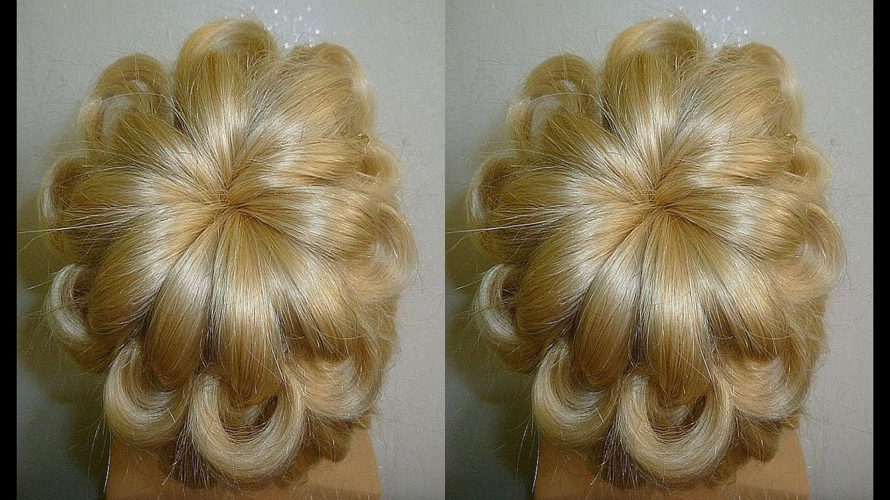 Easy Und Quick Prom/Wedding Hairstyle.Evening Updo