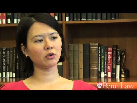 Ceclia Liu LLM'13 on clinical studies and student group opportunities as an LLM student