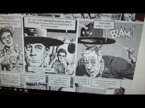 Mash satire In Cracked Magazine