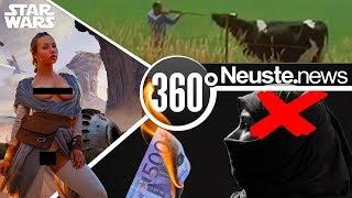 Heißer Star-Wars Porno und EU bringt schwangere Kuh um weil sie über Grenze gelaufen ist!
