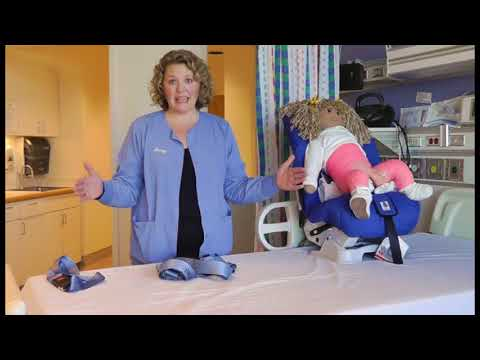 Car seat options for transferring child after casting or surgery