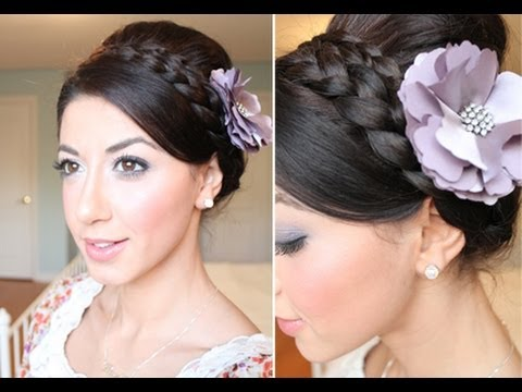 Braided Holiday Up-Do