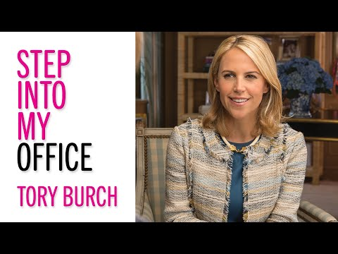 Tory Burch on How She Built a Fashion Empire From the Ground Up—Step Into My Office—Glamour