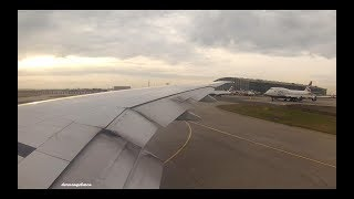 4 engine start-ups for the price of one   British Airways Boeing 777-36N(ER) G-STBD takeoff from LHR thumbnail