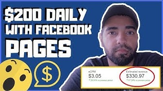 How to Make Money with Facebook Page For Beginners