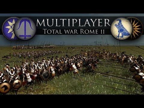 Pontus/Seleucids vs Macedon/Egypt (Online Battle #33)