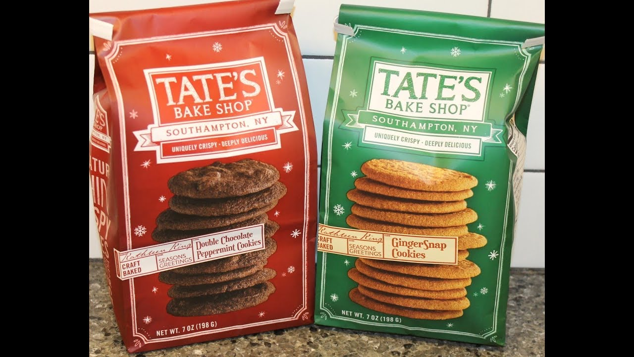 Tate S Bake Shop Double Chocolate Peppermint Cookies Gingersnap Cookies Review