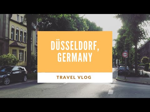 Europe Vlog: Düsseldorf, Germany!