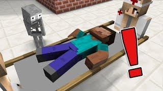 - Monster School The Teacher Got Sick Minecraft Animation