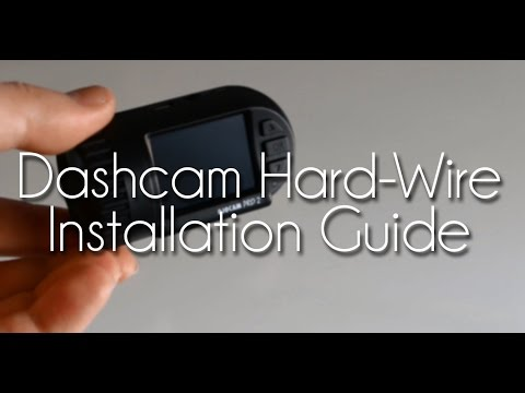 How To: Dash-Cam Hard-Wire Installation (OjoCam Pro 2, Or Mini 0803)