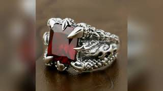 Silver Ring design for Men latest new - Silver rings -  jewelleries 365 - For all women