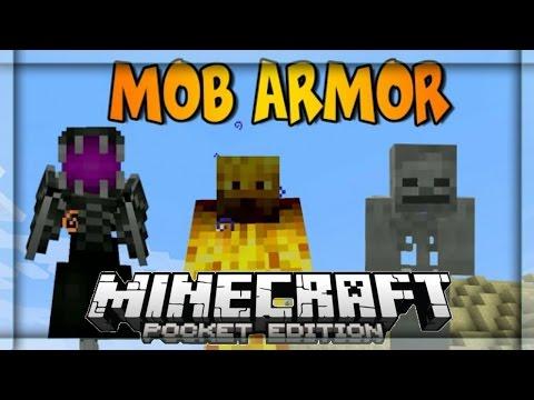 Minecraft PE 0.11.1 Mods: MOB ARMOR MOD Mods Para Minecraft PE 0.11.1